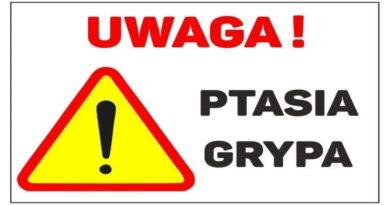 UWAGA ! Ptasia grypa – 23.04.2021