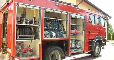 Nowoczesny wóz strażacki dla OSP Zwierzno